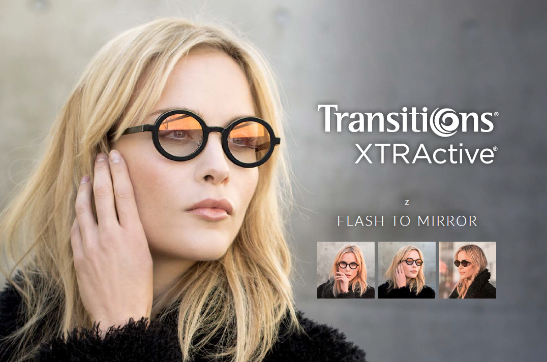 Essilor Transitions Flash To Mirror
